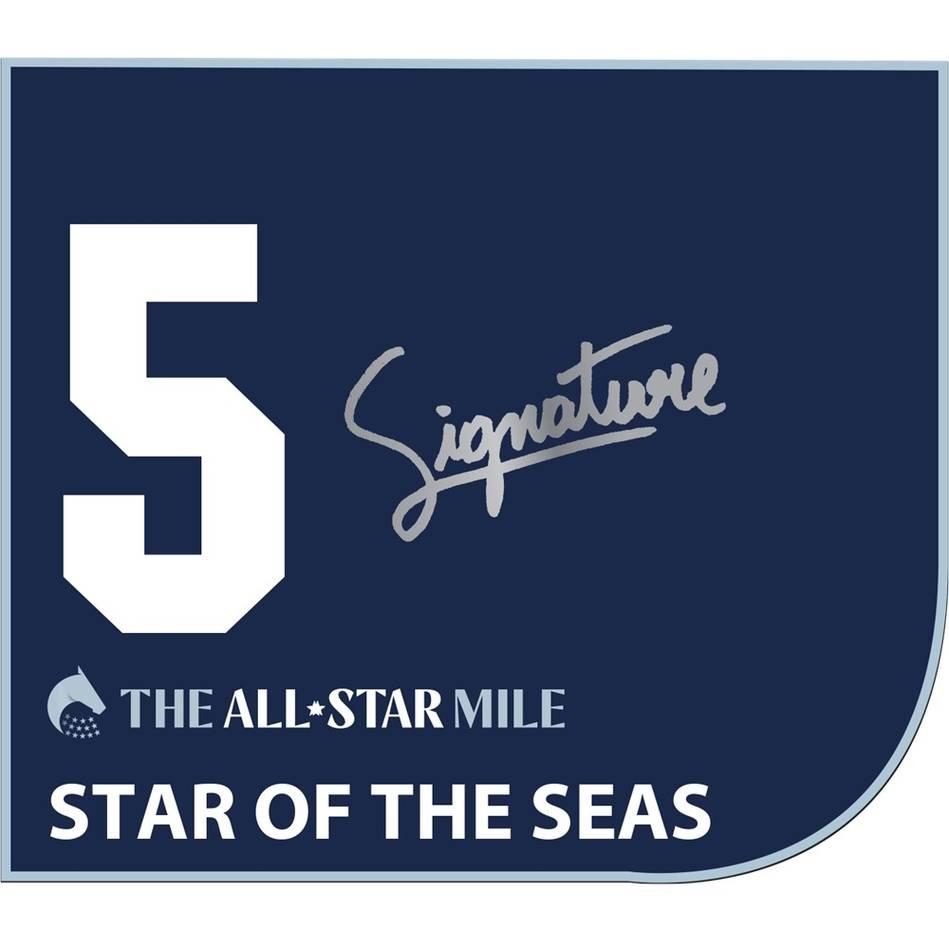 mainStar Of The Seas – Mark Zahra Signed Saddlecloth0