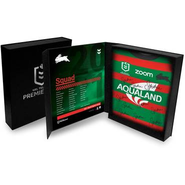 South Sydney Rabbitohs 2021 Squad Signed Jersey