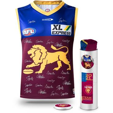 Lachie Neale 2020 Signed Brownlow Medal Guernsey