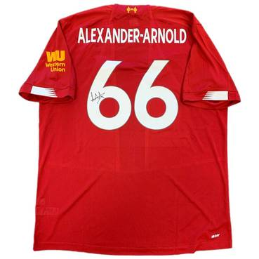 Trent Alexander-Arnold Signed Liverpool 2019-20 Home Jersey