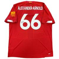 Trent Alexander-Arnold Signed Liverpool 2019-20 Home Jersey0
