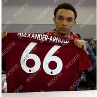 Trent Alexander-Arnold Signed Liverpool 2019-20 Home Jersey1