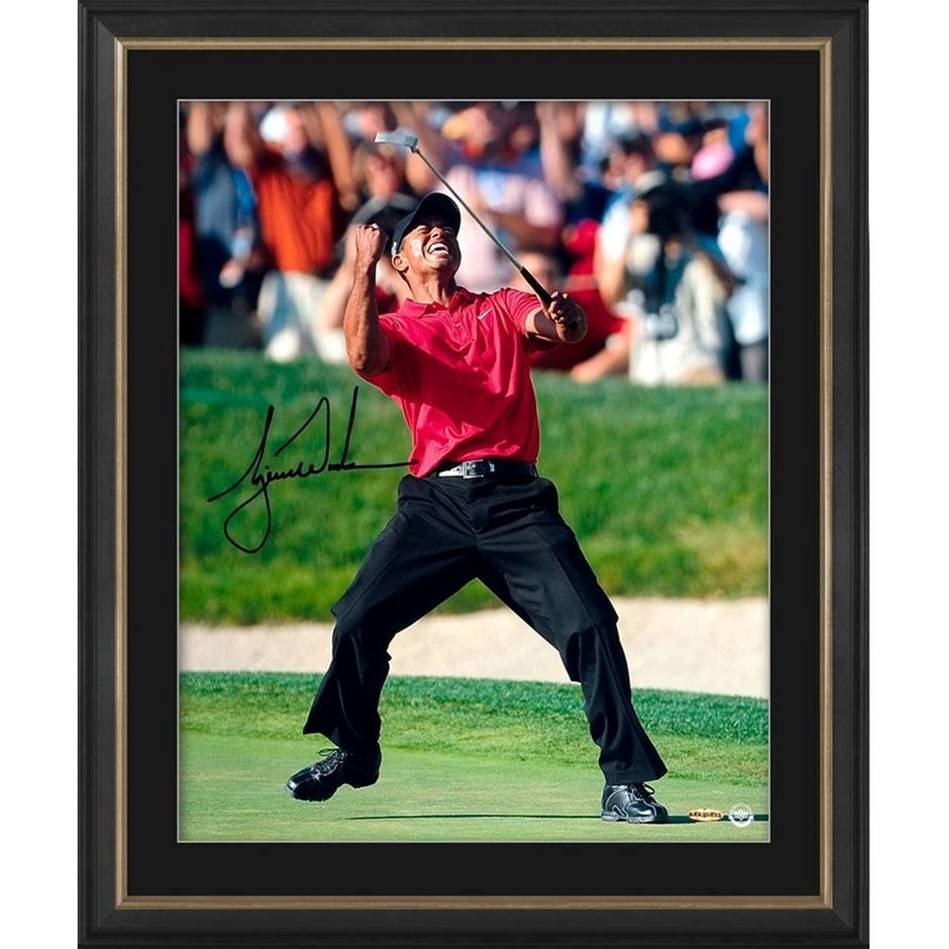 Tiger Woods Signed 'U.S. Open Champ'0