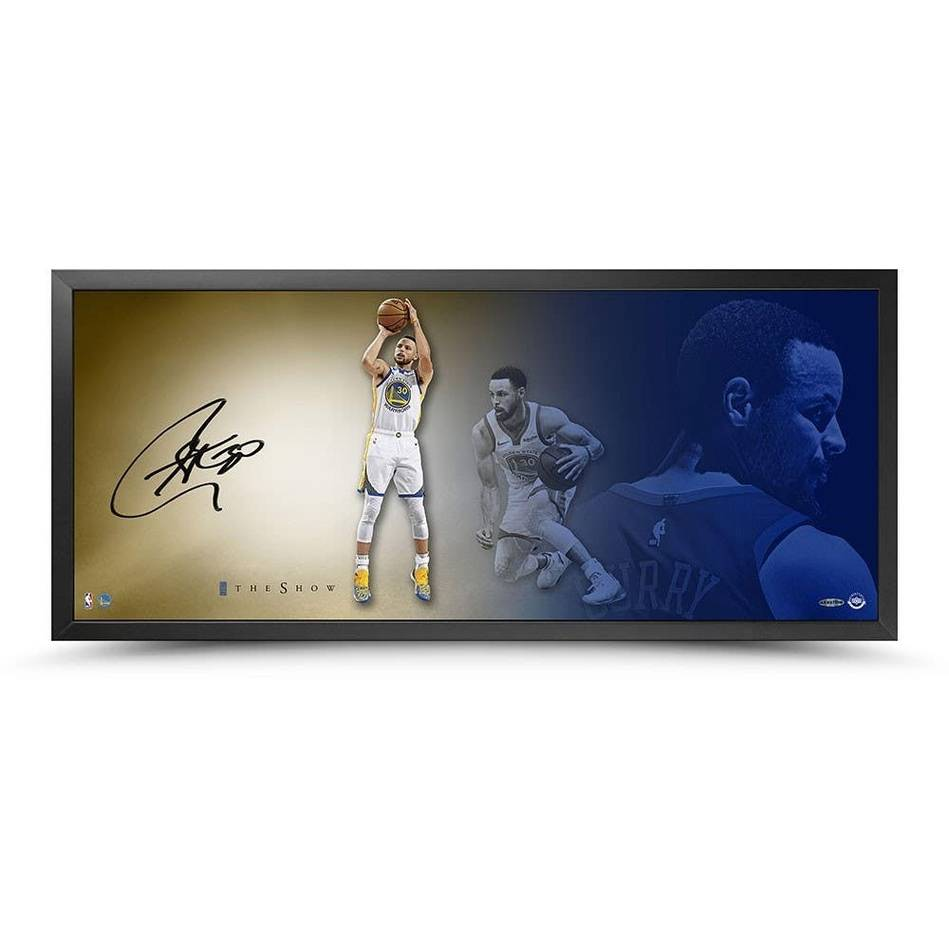 Stephen Curry Signed 'The Show'0