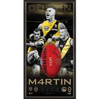 DUSTIN MARTIN BROWNLOW SIGNED BALL0