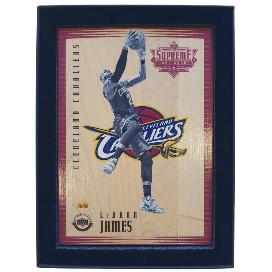 LeBron James NBA Supreme Hard Court Piece0