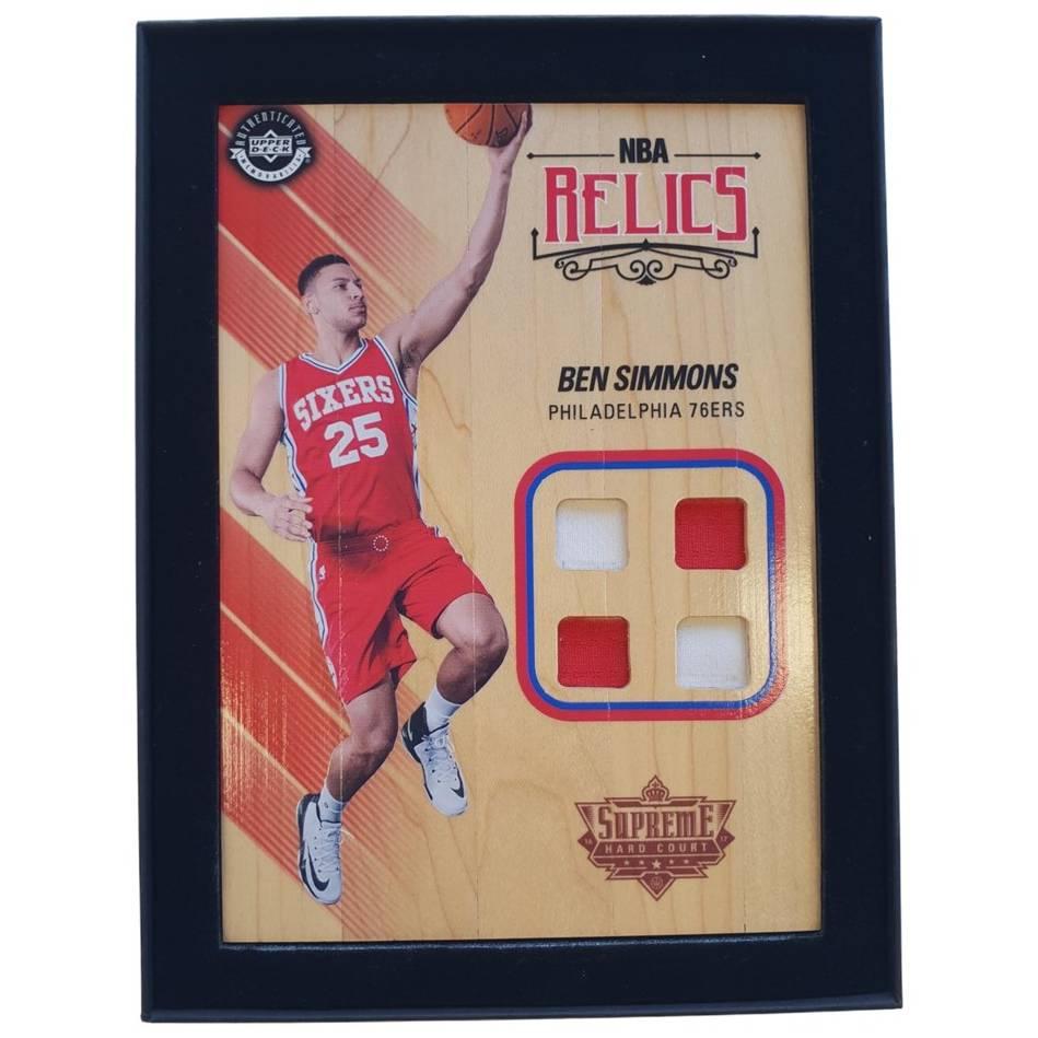 Ben Simmons NBA Supreme Hard Court Relics Piece0