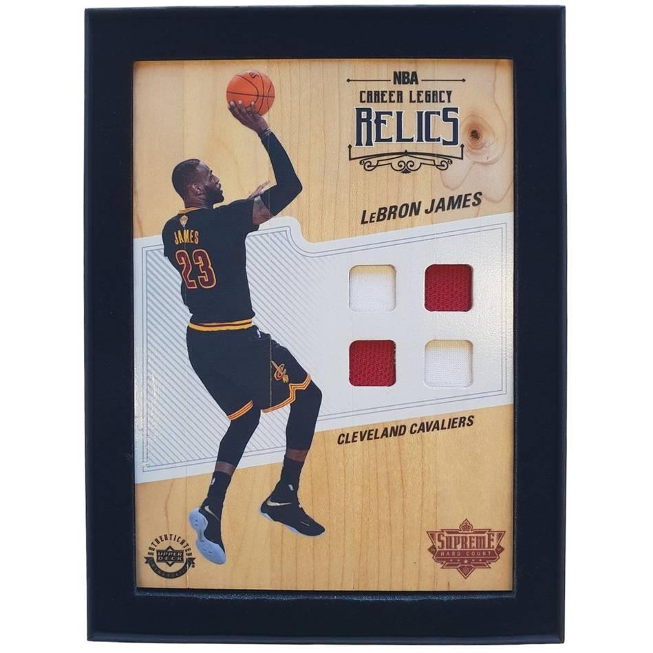 mainLeBron James NBA Supreme Hard Court Career Legacy Relics Piece0