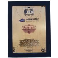 LeBron James NBA Supreme Hard Court Career Legacy Relics Piece1