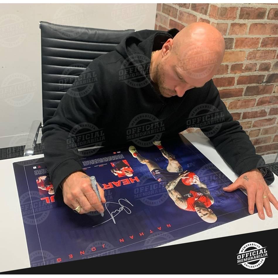 Nathan Jones Signed Lithograph2