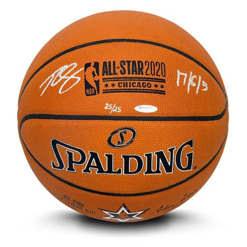 mainBen Simmons Signed and Inscribed 2020 All-Star Game Basketball0