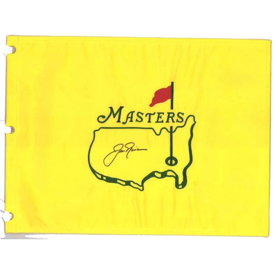 mainJack Nicklaus Signed Masters Flag0