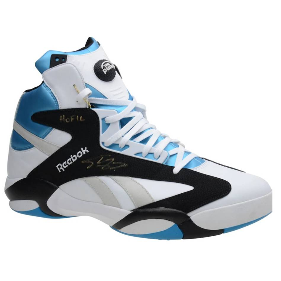 Shaquille O'Neal Signed and Inscribed Reebok Size 22 Sneaker0