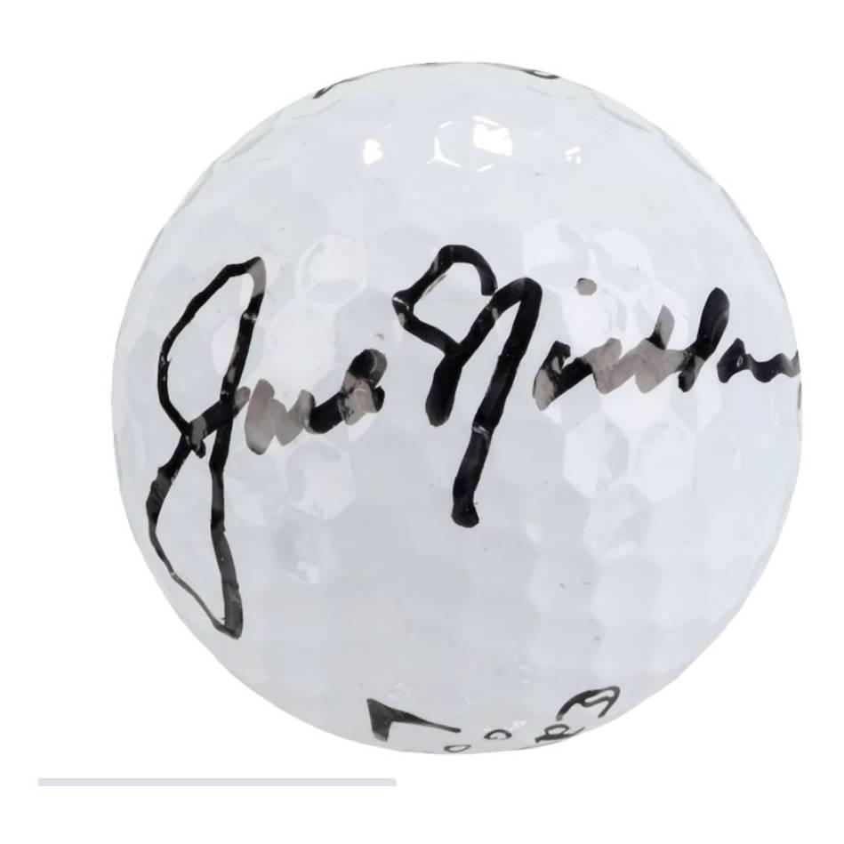 mainJack Nicklaus Signed Golf Ball0