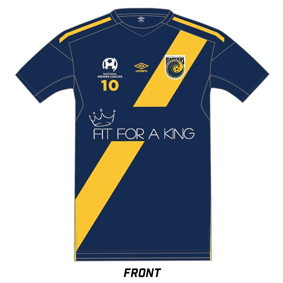 Stefan Nigro Signed Fit for a King Warm-Up Jersey