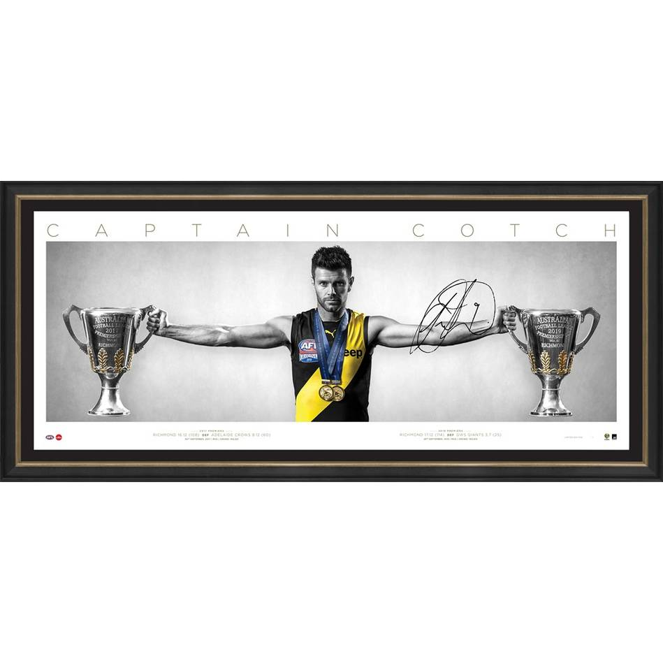 mainEDITION #1 Trent Cotchin Signed Wings0