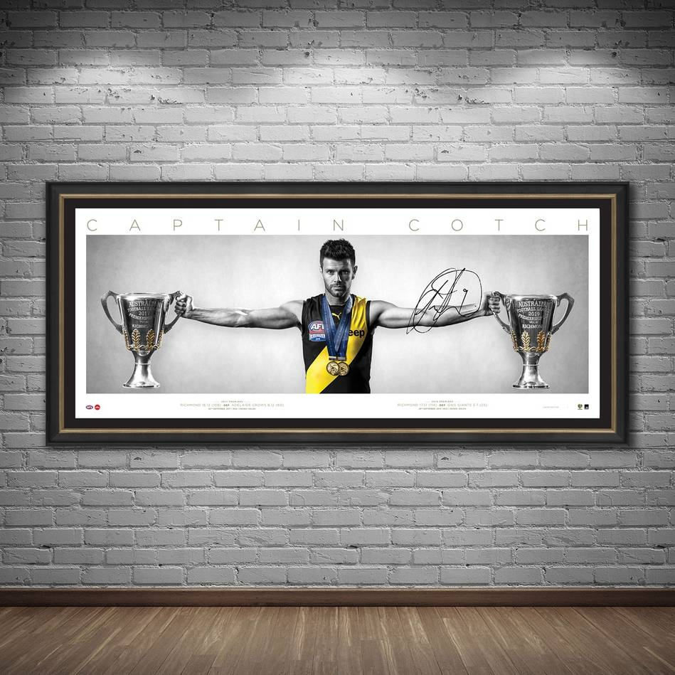 mainEDITION #1 Trent Cotchin Signed Wings1
