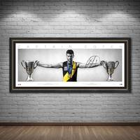 EDITION #1 Trent Cotchin Signed Wings1