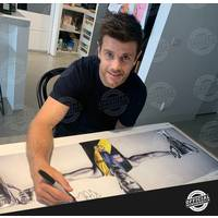 EDITION #1 Trent Cotchin Signed Wings2
