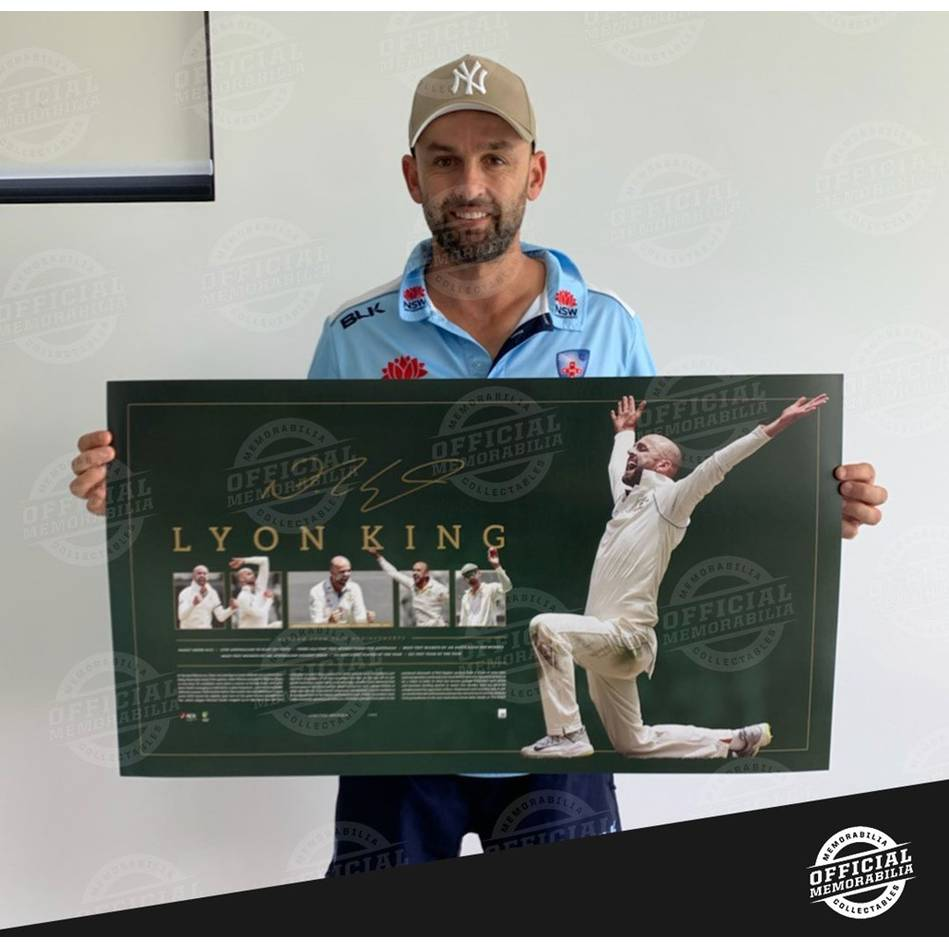mainEDITION #421 Nathan Lyon Signed Lithograph2