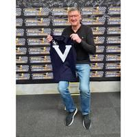 Simon Madden Signed Match-Worn Guernsey - Big V2