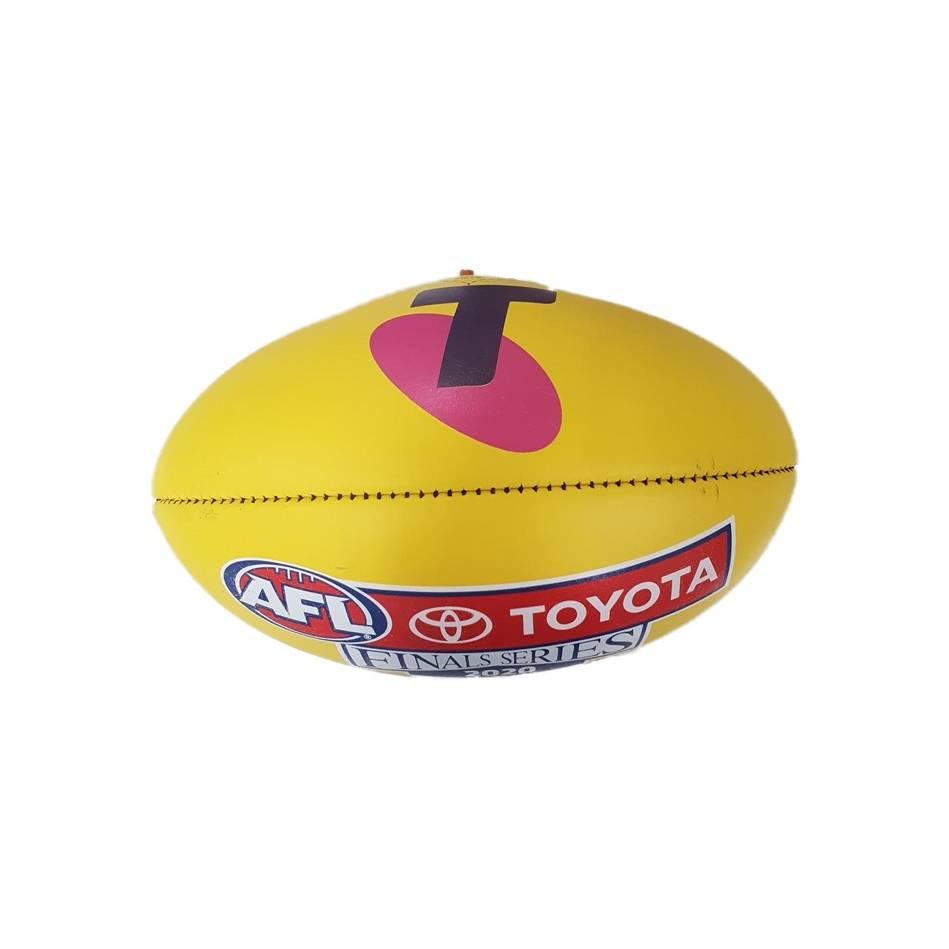 mainBrisbane Lions vs Geelong Cats 2020 Preliminary Final Match-Used Ball1