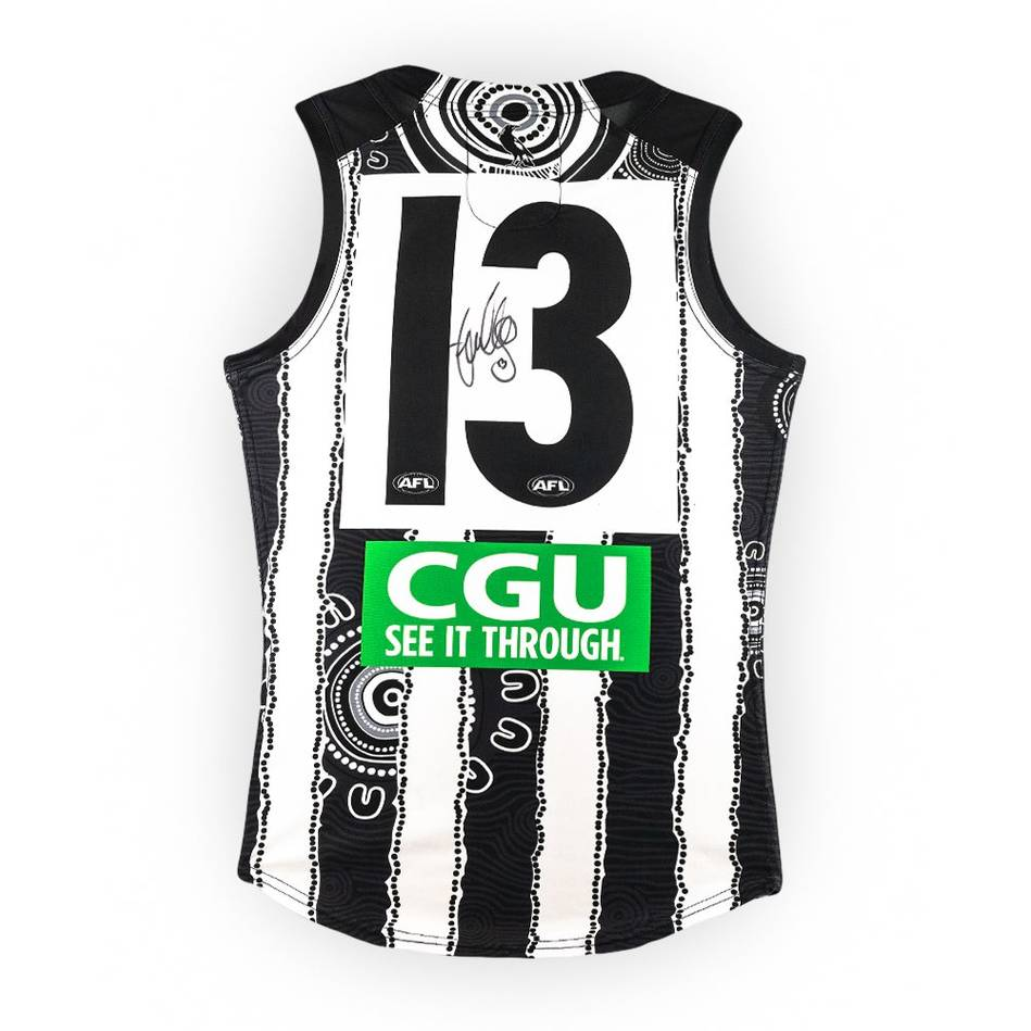 mainTaylor Adams Signed Match-Worn Guernsey - Indigenous1