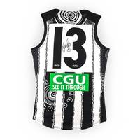 Taylor Adams Signed Match-Worn Guernsey - Indigenous1