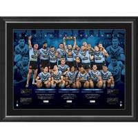 EDITION #16 - NSW Blues 2021 State of Origin Signed Champions Lithograph0