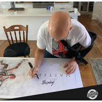 EDITION # 357 Gary Abblett Jr Signed Career Retrospective Lithograph2