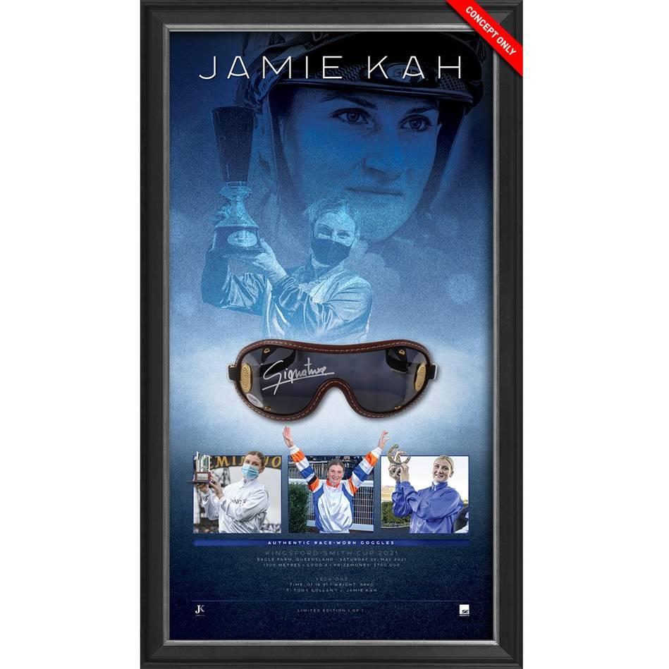 mainJamie Kah 2021 Raced-Used Goggles – Vega One0