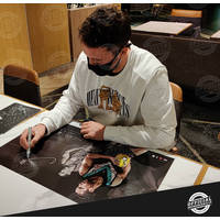 Travis Boak Signed Lithograph3