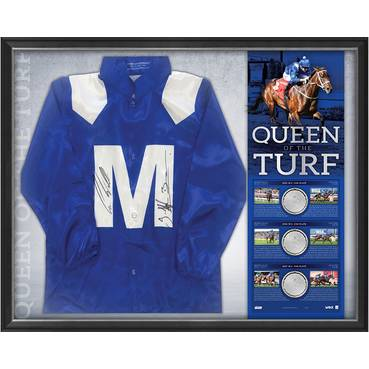 WINX SIGNED 'QUEEN OF THE TURF'