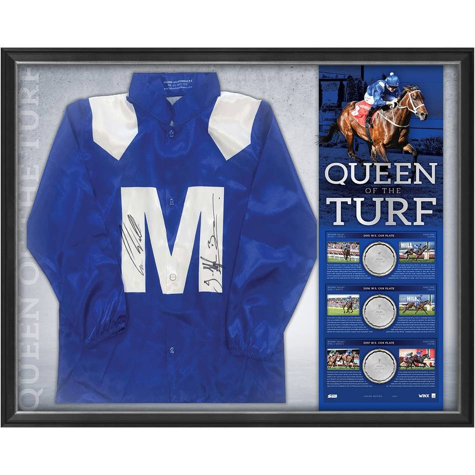 mainWINX SIGNED 'QUEEN OF THE TURF' *EDITION #1*0