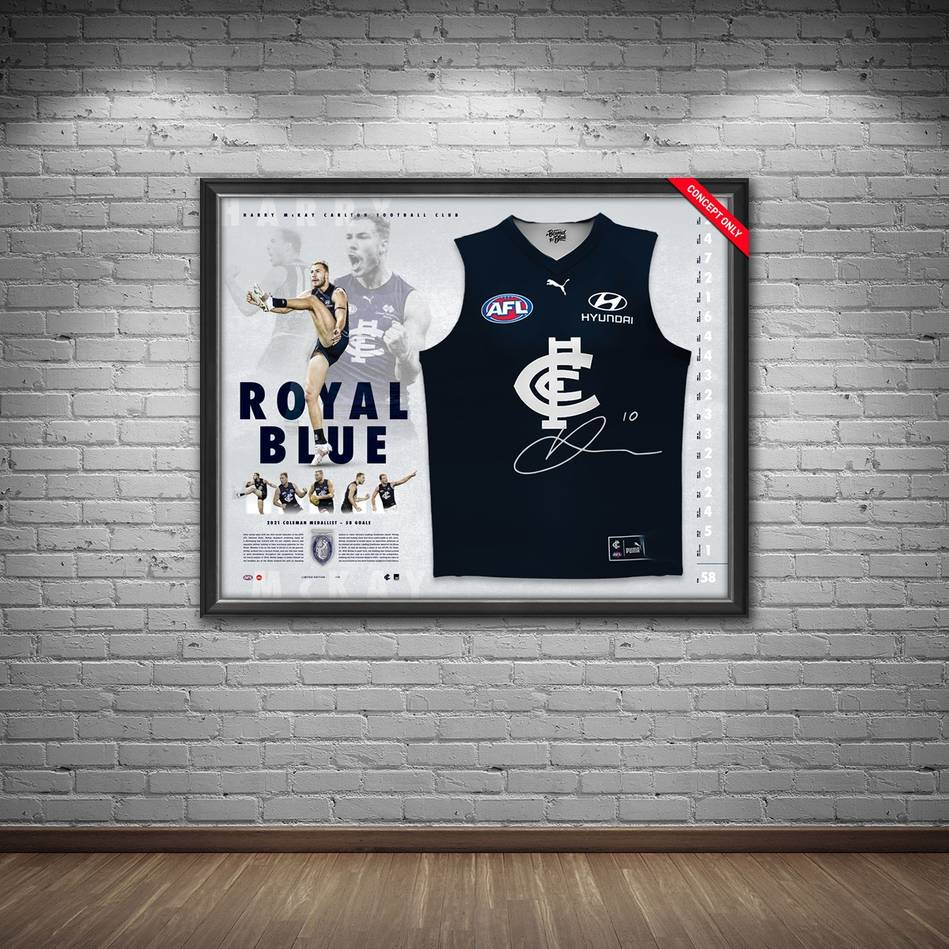 Harry McKay Signed Guernsey Display1