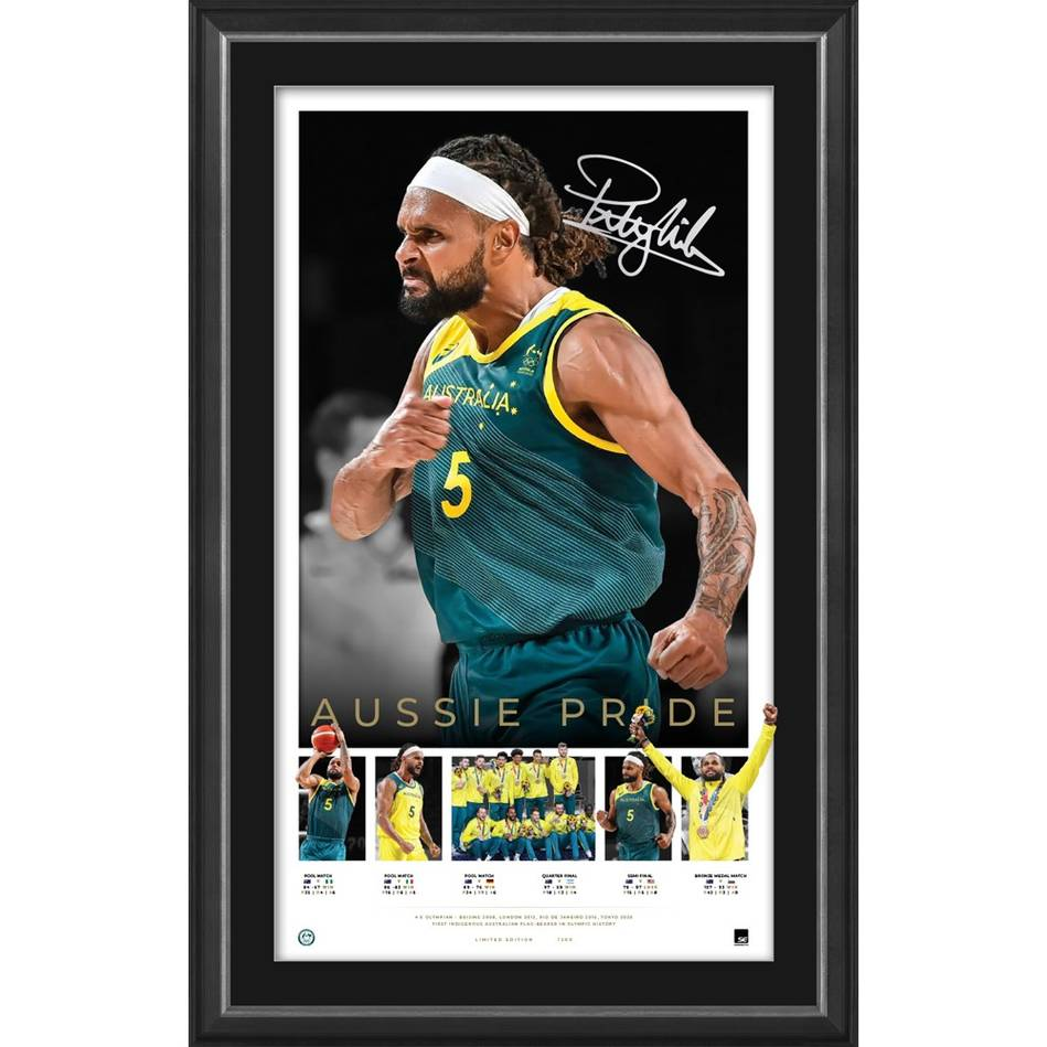 Patty Mills Signed Icons Series0
