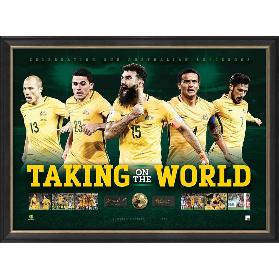 mainSOCCEROOS SIGNED 'TAKING ON THE WORLD'0
