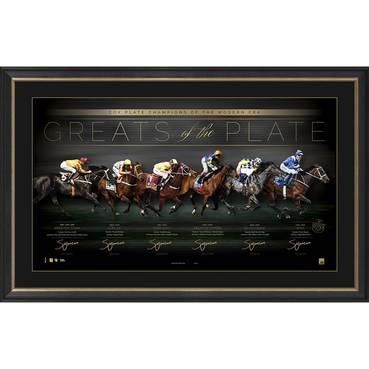 GREATS OF THE PLATE SIGNED LITHOGRAPH