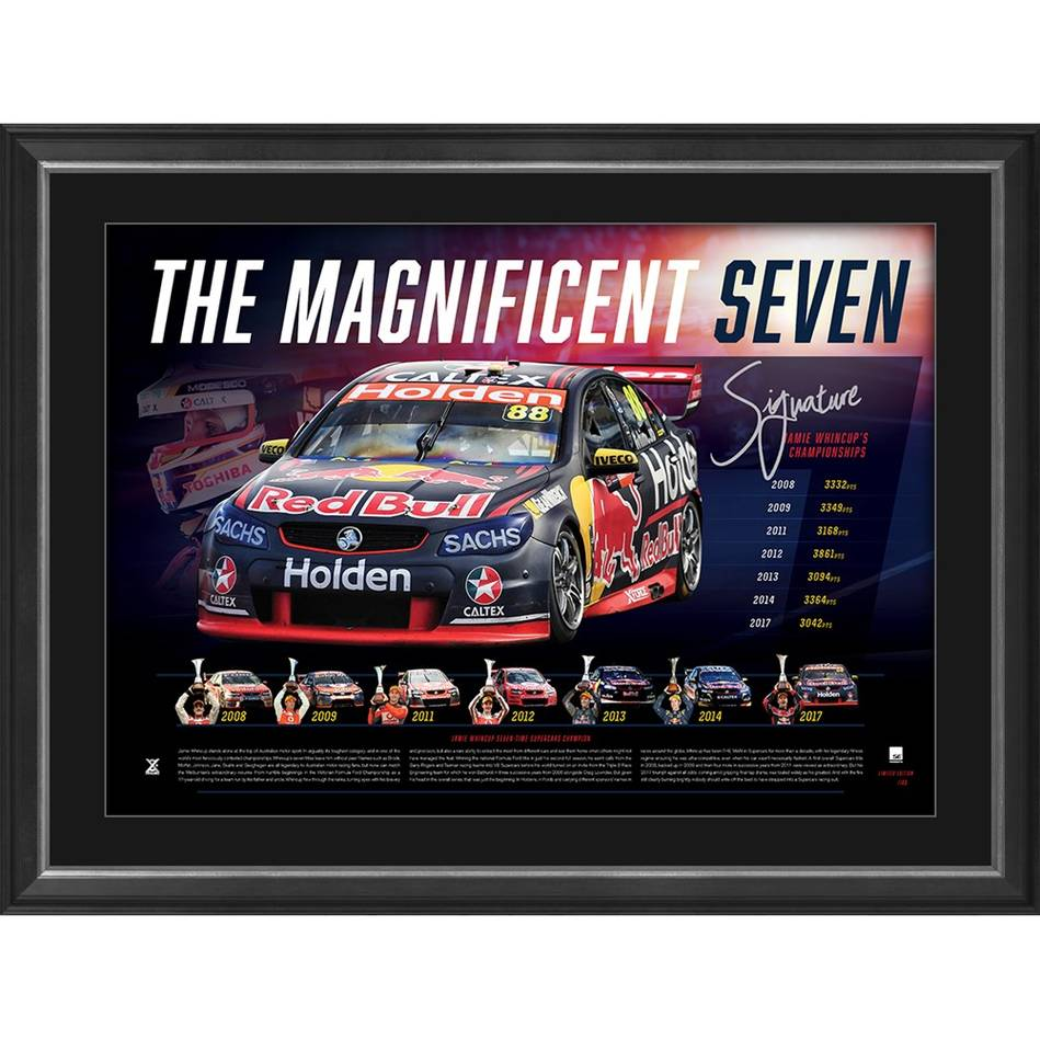 mainJAMIE WHINCUP SIGNED 'THE MAGNIFICENT SEVEN'0