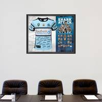 SHARKS 2016 PREMIERS TEAM SIGNED JERSEY1