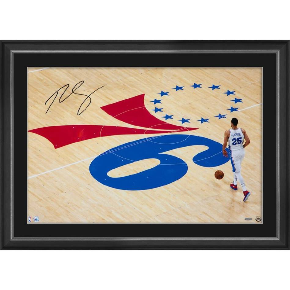 mainBEN SIMMONS SIGNED 'ONE STEP AT A TIME'0