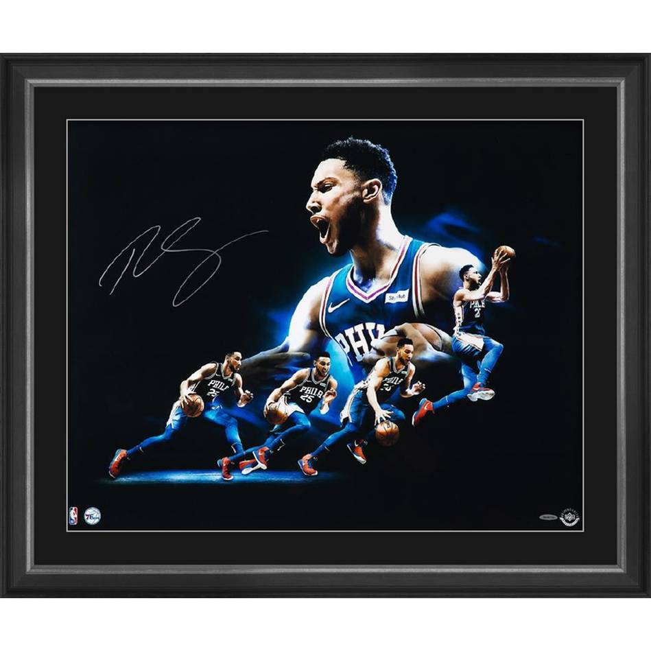 mainBEN SIMMONS SIGNED 'DRIVE'0