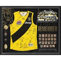 RICHMOND 2017 PREMIERS TEAM SIGNED 'A YEAR TO REMEMBER'0