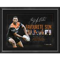 Benji Marshall Signed 'Favourite Son'0
