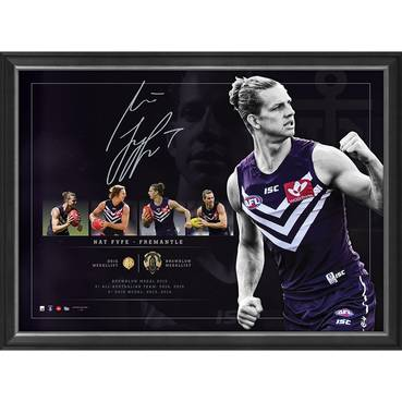 Nat Fyfe Signed Lithograph