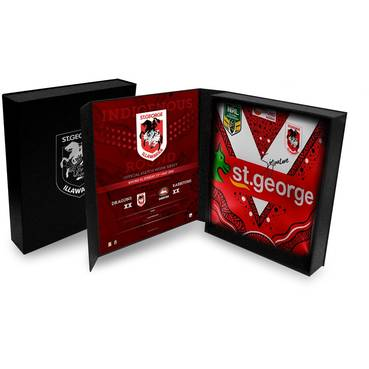 St George Illawarra Dragons 2018 Indigenous Round Team Signed Jersey (1/2)