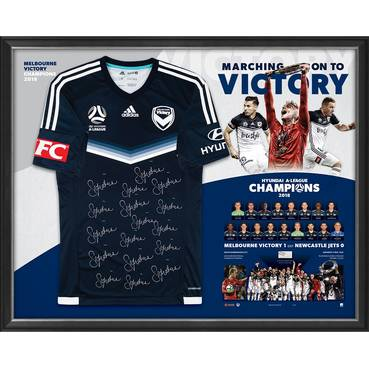 Melbourne Victory  Hyundai A-League 2018 Champions Team Signed Jersey