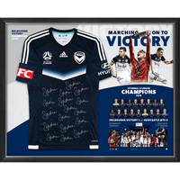 Melbourne Victory  Hyundai A-League 2018 Champions Team Signed Jersey0