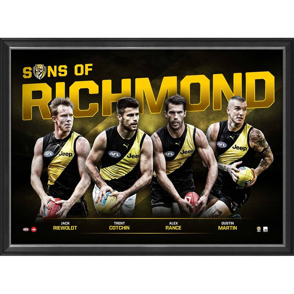 Sons of Richmond | Richmond Tigers AFL Official Memorabilia