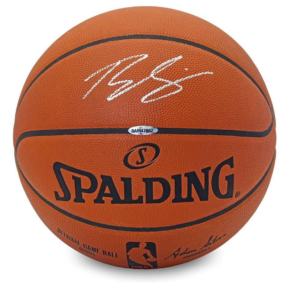 mainBen Simmons Signed Spalding Ball0